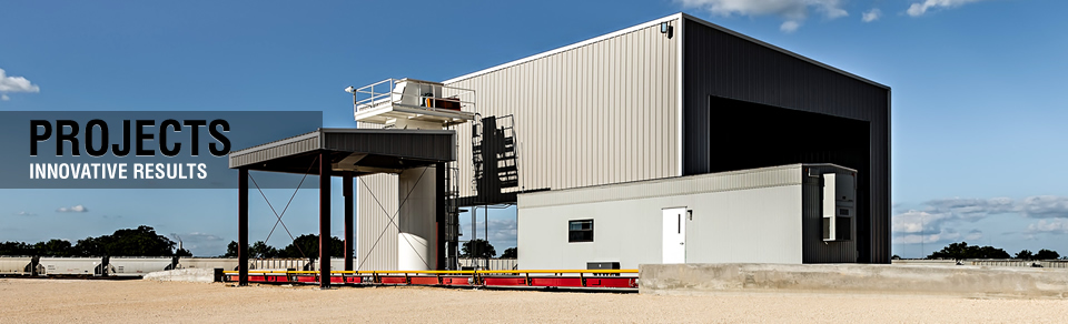 Projects - Frac Sand Transload Terminal
