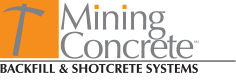 Mining Concrete - Backfill & Shotcrete Systems